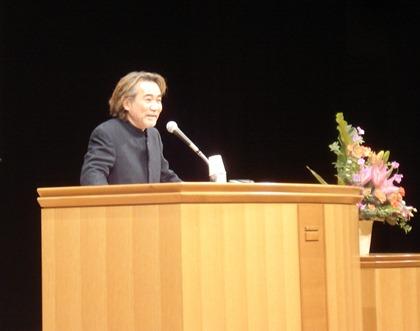 稲川淳二さん人権講演会