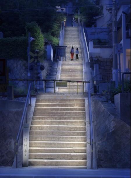 提供:(一社)尾道観光協会 照明デザイン:㈱石井幹子デザイン事務所